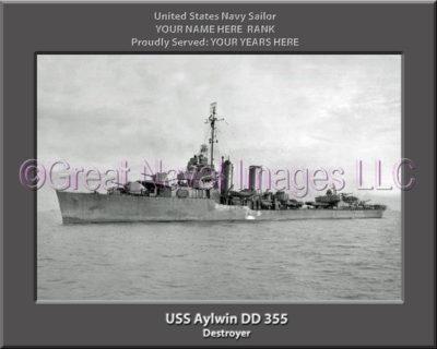 USS Aylwin DD 355