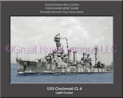 USS Cincinnati CL 6