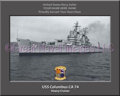 USS Columbus CA 74