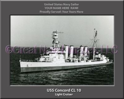 USS Concord CL 10