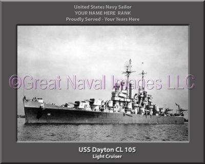 USS Dayton CL 105
