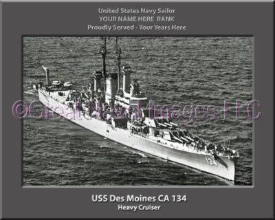 USS Des Moines CA 134