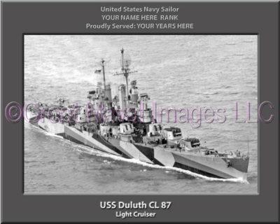 USS Duluth CL 87