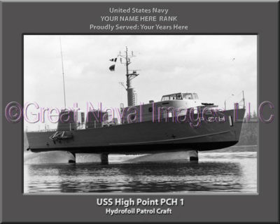 USS High Point PCH 1 Personalized Navy Ship Photo