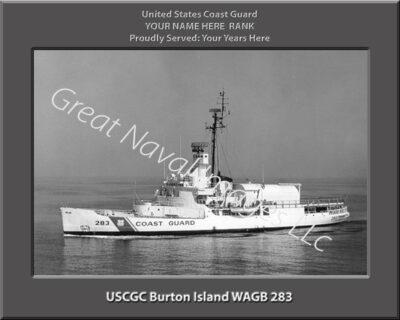USCGC Burton Island WAGB 283 Personalized Photo